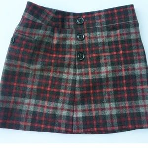b09b12f84 GAP · Gap Mini Skirt Schoolgirl Wool ...